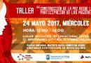 """Taller """"Construcción De La Paz Desde La Participación de Las Mujeres"""""""