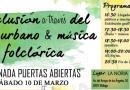 Inclusión a través del arte urbano & música folclórica: Jornada Puertas Abiertas