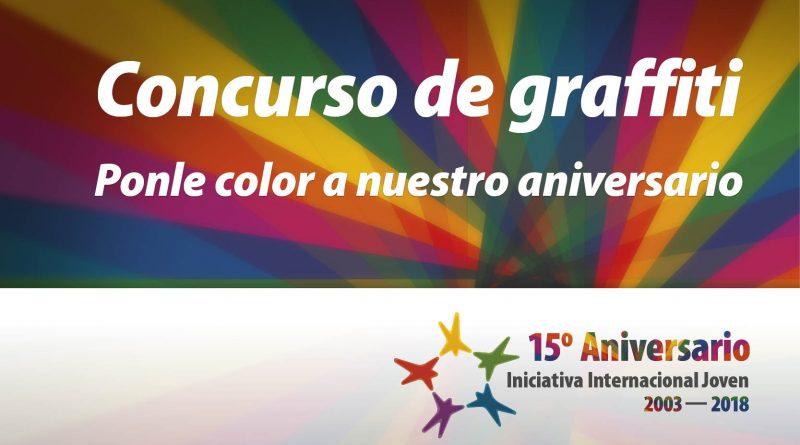 Concurso de graffiti – 15 Aniversario