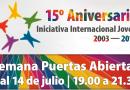 15º Aniversario: Semana Puertas Abiertas (Actividades gratuitas)