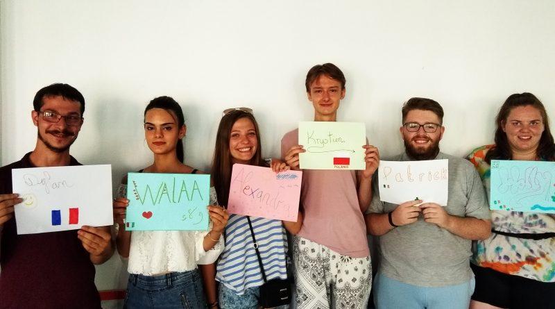 ¡¡Bienvenid@s!! Nuevos voluntarios SVE / Día de la interculturalidad