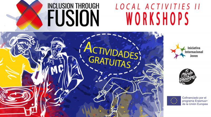 "Talleres del proyecto ""Inclusion through Fusion"""