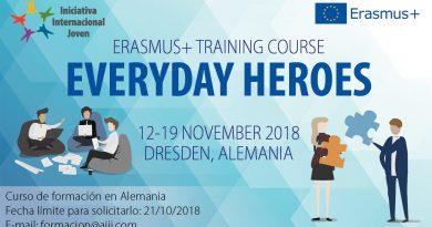 """Curso de Formación """"Everyday Heroes"""" en Alemania"""