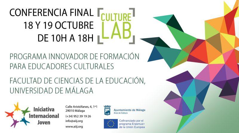 Conferencia Final del proyecto Culture Lab: Programa Innovador de formación para Educadores Culturales