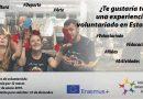 ¡¡URGENTE!! Tenemos tres plazas para un proyecto de voluntariado aprobado en Estonia