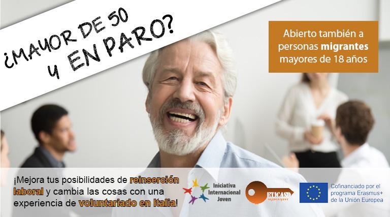 Oportunidad de formación y voluntariado en Italia para adultos y seniors