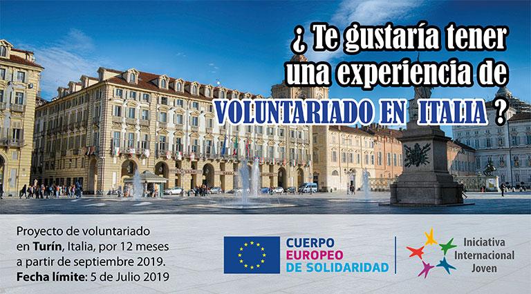 Urgente! Plazas de Voluntariado en Italia