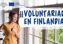 Dos plazas de voluntariados disponibles en Finlandia