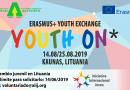 """Intercambio Juvenil """"Youth ON*"""" en Kaunas (Lituania)"""