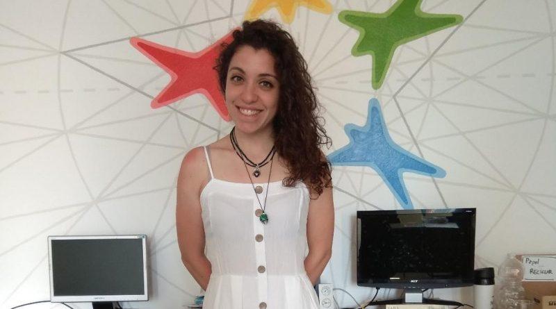¡Bienvenida Lucia! Nueva voluntaria en «casa»