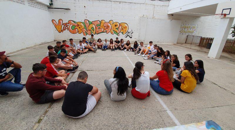 """""""Arte Urbano y Desarrollo"""" en el IES Montes de Colmenar"""