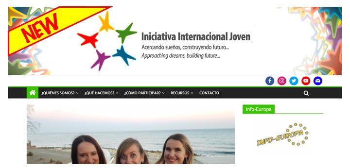 Actualización de nuestra página web
