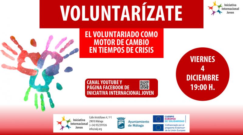 Voluntarízate: el voluntariado como motor de cambio en tiempos de crisis