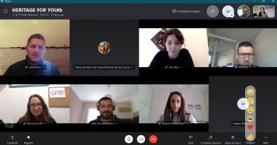 Heritage for Youth: reunión online y encuesta