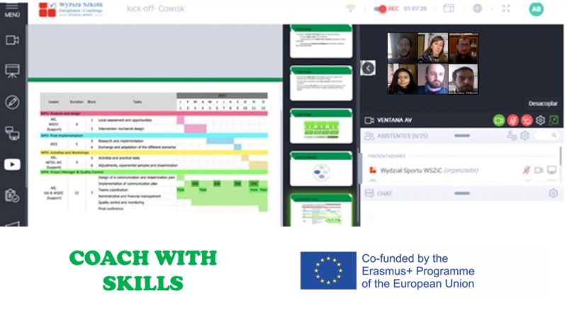 Coaches with skills: primera reunión online