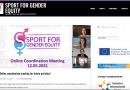 Sport for Gender Equity: página web